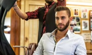 Colour or Cut with Optional Shave or Colour at Mirage Gents Salon, Crowne Plaza Hotel - Dubaisavers