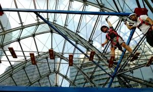 indoor adventure park at The Edge Adventures-Burjuman - Dubaisavers