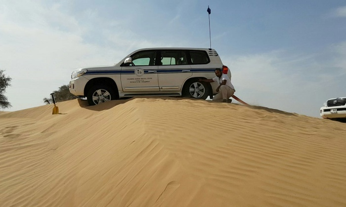 Off-Road Desert Driving Course at Galadari Motor Driving Center - Dubaisavers