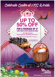 IMG Worlds of Adventure Easter Offer - Dubaisavers