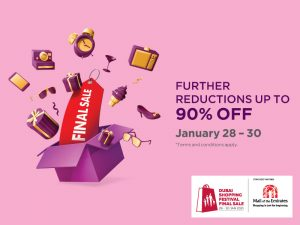 DSF Final Sale deals at Mall of the Emirates - Dubaisavers