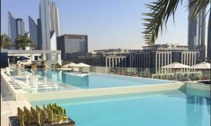 Pool Access for Up to Eight with Optional Food at Mosaic Pool & Lounge - Sofitel Dubai Downtown - Dubaisavers