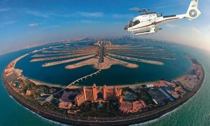 12-Minute Palm Jumeirah Helicopter Tour for Up to Four with Navita Tourism - Dubaisavers
