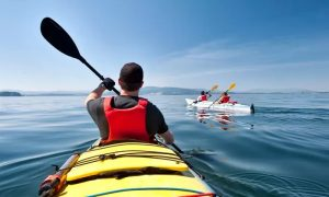 One-Hour Paddleboard or Kayak Rental for One or Two from Popeye Jetski Rental - Dubaisavers