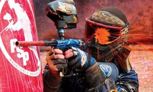 Outdoor Paintball Experience with 100 or 200 Paintballs at Sahara Amusement - Dubaisavers