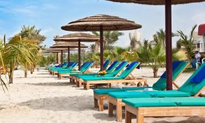 Chalet Hire for Family of 4 or 8 with Optional Food and Drinks Voucher at Pool Bar at 5* Sahara Beach Resort and Spa - Dubaisavers