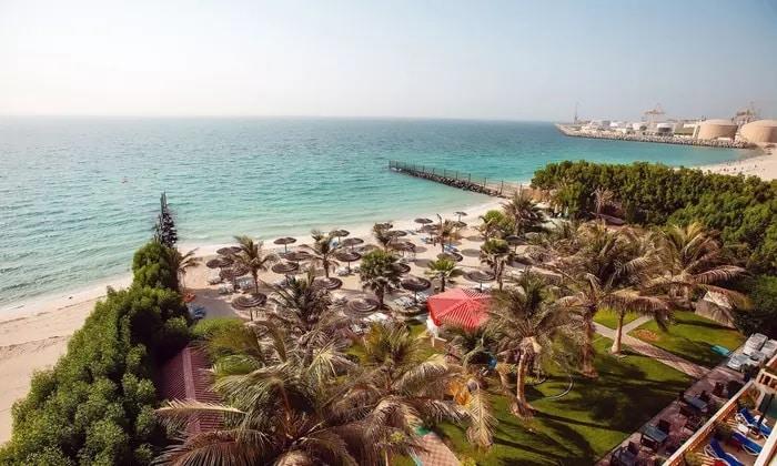 Pool Bar at 5* Sahara Beach Resort & Spa - Dubaisavers