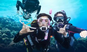 One Beach Try or Boat Try Scuba Dive with Scuba Shade Diving - Dubaisavers