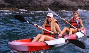 Kayaking or Stand-Up Pedal Board or Pedal Boat at Sky & Sea Adventures - Dubaisavers