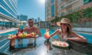 Pool Access with Optional AED 100 Toward Food for Up to 4 at Recreation Club at 5* Stella di Mare Dubai Marina - Dubaisavers