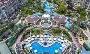 Pool Access with Food Credit for Up to Four at Flow Health Club at 5* Swissotel Al Murooj Hotel - Dubaisavers