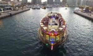 Dubai Creek Cruise with Three-Course Dinner with Time Tourism - Dubaisavers