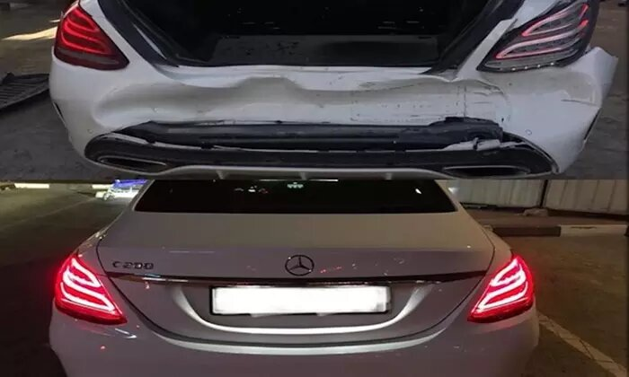 Car Scratch and Dent Removal at Tornado Auto Services - Dubaisavers