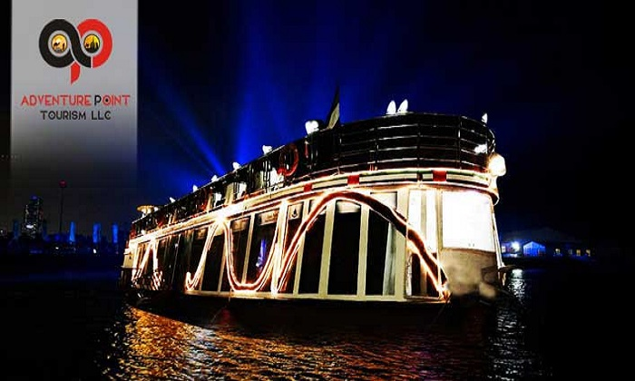 2 Hour Creek Cruise with Dinner Buffet and entertainment by Adventure Point Tourism - Dubaisavers
