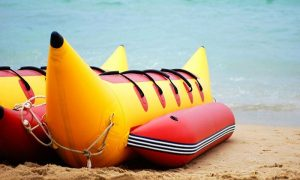 Banana Boat Ride at Almurjan Marine Amusements - Dubaisavers