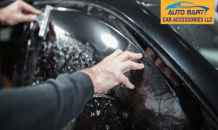 USA Standard Car Window Tinting Services by Auto Mart Car Accessories - Dubaisavers