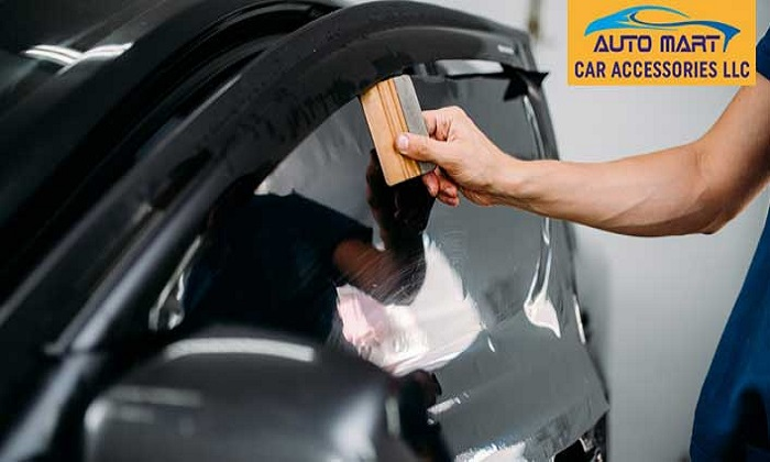 Enzo Cool Car Window Tinting Services by Auto Mart Car Accessories - Dubaisavers