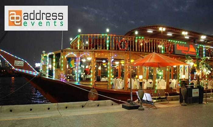 Delicious Dinner on a Dhow cruise at Dubai Creek by Address Events - Dubaisavers