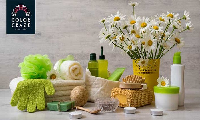 Relaxation Treatment or Hammam Packages at Color Craze Ladies Salon & Spa - Dubaisavers