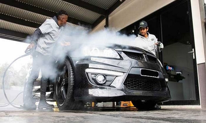 Steam Wash Services from Auto Pro Cars Polishing & Accessories - Dubaisavers