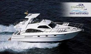 56-Ft Luxury Yacht Cruise by Waves Water World Sports Luxury Yacht Charters LLC - Dubaisavers