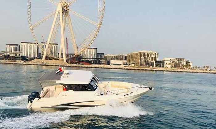 1-Hour Marina Cruise by Blue Lagoon Passenger Yachts and Boats Rental - Dubaisavers