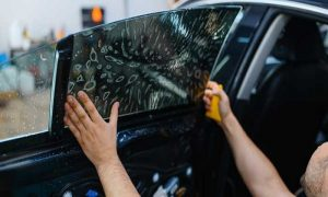 Car Window Tinting at Classic Tyre Trading - Dubaisavers