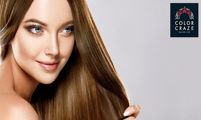 Keratin Treatment at Color Craze Ladies Salon - Dubaisavers