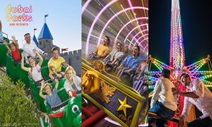 2 Dubai Parks Passes for 2 or 3 People by Dubai Parks Destination Management L.L.C - Dubaisavers
