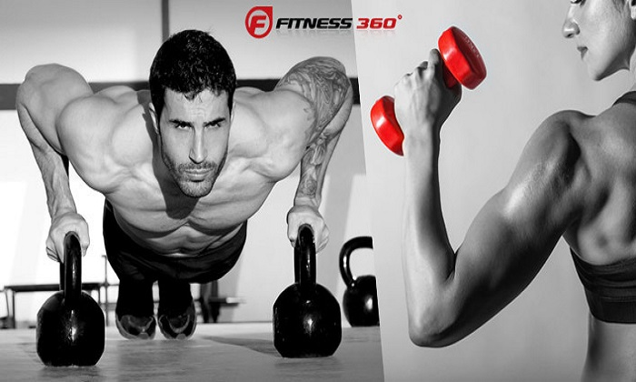 Fitness Classes and 1-Month Gym Access from Fitness 360 - Dubaisavers