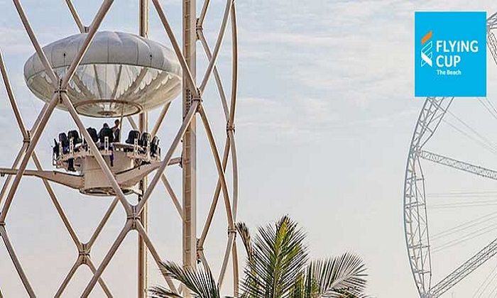 Flight Experience on The Flying Cup - Dubaisavers