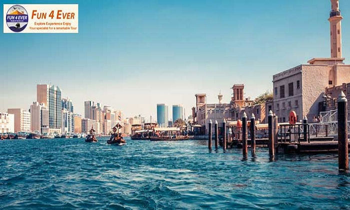 2 Hour Deira Creek Dhow Cruise with Dinner by Fun Forever Tourism LLC - Dubaisavers