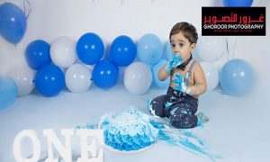 Baby Cake Smash Photo Shoot @ Ghoroor Photography Studio - Dubaisavers