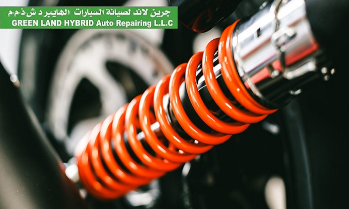 Auto Spring or Shock Replacement Service at Green Land Hybrid Auto Repairing LLC - Dubaisavers