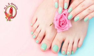 Manicure and Pedicure at Hamda Ladies Saloon - Dubaisavers