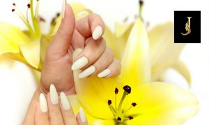 Acrylic Nail Extension Package @ Joseph Dimerji Beauty Salon - Dubaisavers