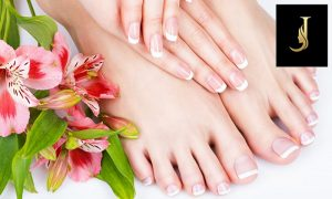 Classic or Gelish Nails + Eyebrow Threading at Joseph Dimerji Beauty Salon - Dubaisavers
