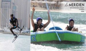 Water Skiing, Wakeboarding or Tube Ride at Le Meridien Mina Seyahi Beach Resort & Marina - Dubaisavers