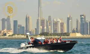 60 or 90-Minute Marasi Canal & Burj Cruise by Maxoel Yachts LLC - Dubaisavers