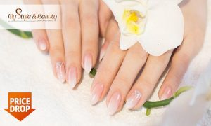 Full Set Nail Extensions or Ombré Manicure at My Style & Beauty JLT - Dubaisavers