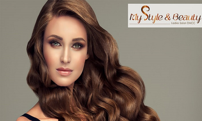 Hair, Nails & Hair Coloring Package @ My Style & Beauty JLT - Dubaisavers