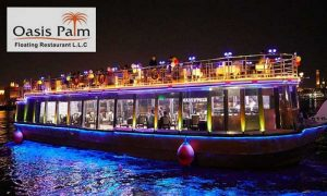 2-Hour Dubai Creek Dhow Cruise by Oasis Palm Floating Restaurant LLC - Dubaisavers