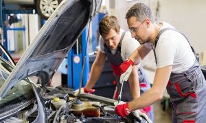 Oil & Filter Change at Car World Automobiles - Dubaisavers