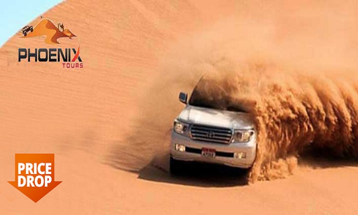 Evening Desert Safari + Transportation by Phoenix Tours LLC - Dubaisavers