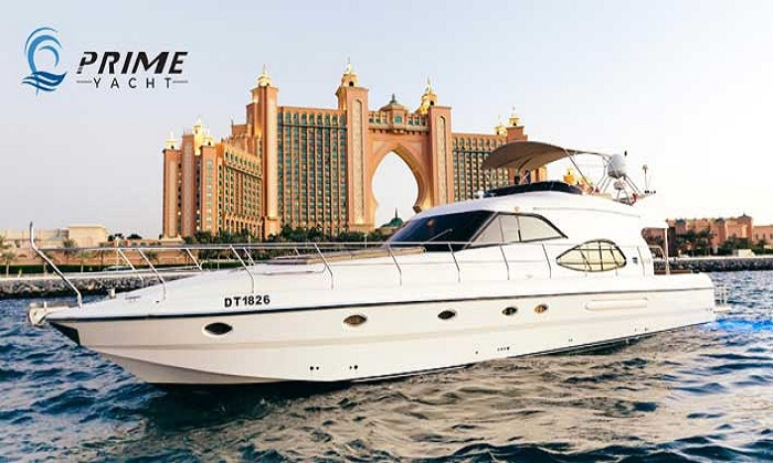 68 Ft Yacht Rental with Sightseeing by Prime Yacht Charter LLC - Dubaisavers