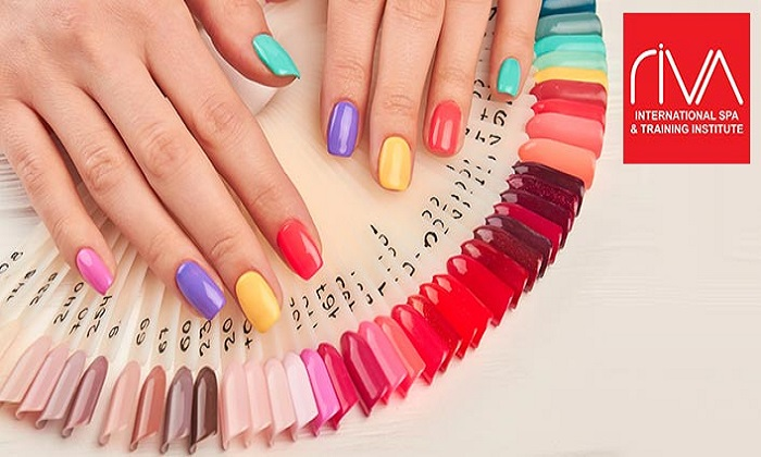 Classic or Gelish Manicure and Pedicure from Riva International Spa - Dubaisavers