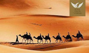 VIP Desert Safari with Live Cooking by The Royal Vision Tourism LLC - Dubaisavers