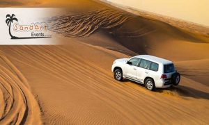 Evening Desert Safari + BBQ Dinner Buffet by Sand Art Events LLC - Dubaisavers