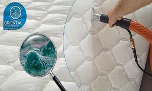 Sanitisation and Deep Vacuuming of 1 Mattress by Oriental Professionals Technical Services LLC - Dubaisavers