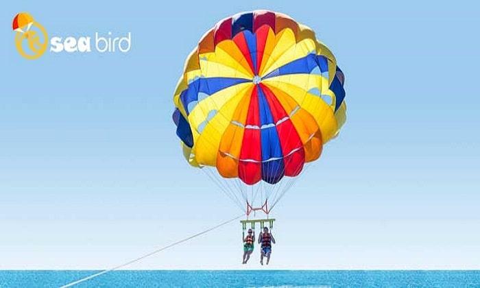 15 Minute Parasailing Experience at JBR by Sea Bird Water Sports - Dubaisavers